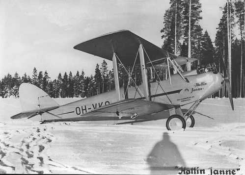 "De Havilland Moth, ""Hallin Janne"""