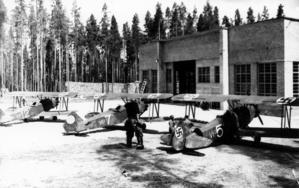 First planes repaired in Kuorevesi