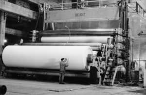 The American-made PK 4 started up at Kaipola in March 1961. The machine represented the highest technology of its time.