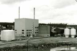 The evaporation and incineration plant for lye effluent was completed in 1969.