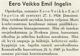 (c) UPM-Kymmene Photo Library Division and Unit,  08b_ingelin_eero_veikko_emil_muistokirjoitus.jpg